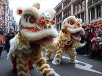 Londres celebra la llegada del Año del Dragón