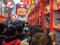 Auge del turismo durante la Fiesta de Primavera