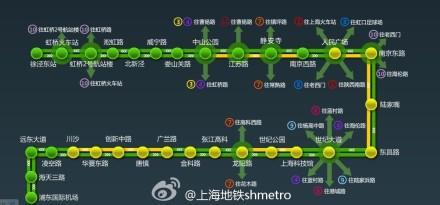 上海地铁二号线发生信号设备故障 部分站点限流