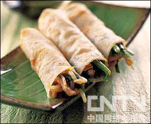 """二月二吃什么""""龙鳞""""(春饼)"""