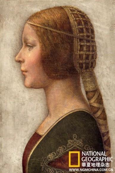 破解达芬奇上亿美元画像神秘女子美丽公主(