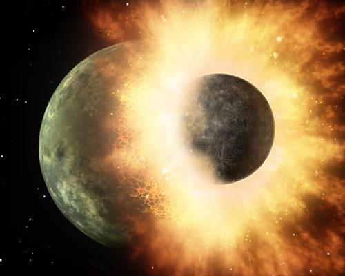 行星碰撞:太空中的高速碰撞