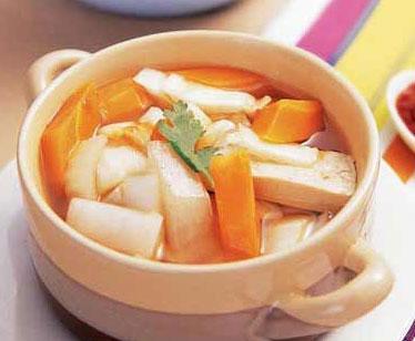 健胃萝卜汤