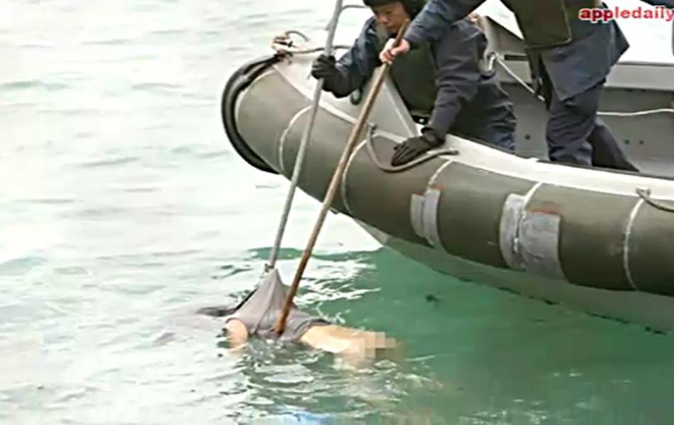 香港出租车孽缘谋案 女白领半裸溺毙浮尸海