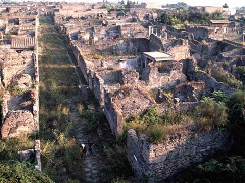 庞贝古城遗址