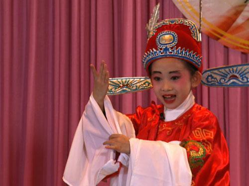 孙诗贻表演《女驸马》