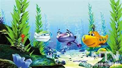 环球数码3d动画电影 《潜艇总动员2》发布
