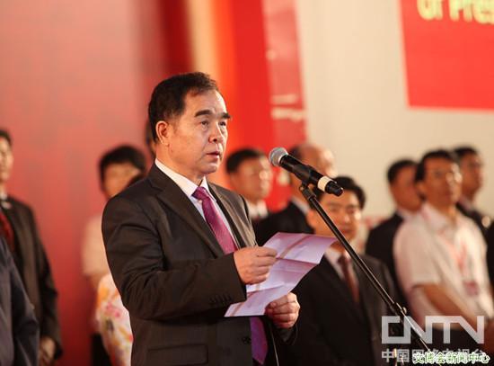 新闻出版总署党组书记、署长柳斌杰在第八届文博会开幕式上致辞