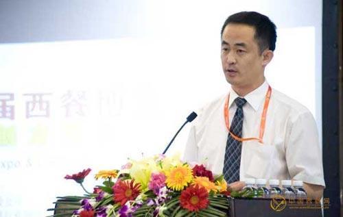 中国西餐网副总经理吴幼峰先生致辞