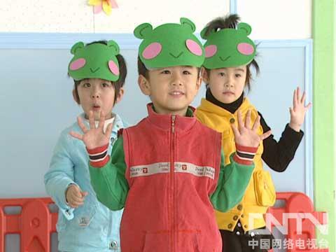 青蛙可爱简单头饰
