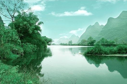 """桂林月亮山旅游风景区至银子岩""""十里画廊"""""""