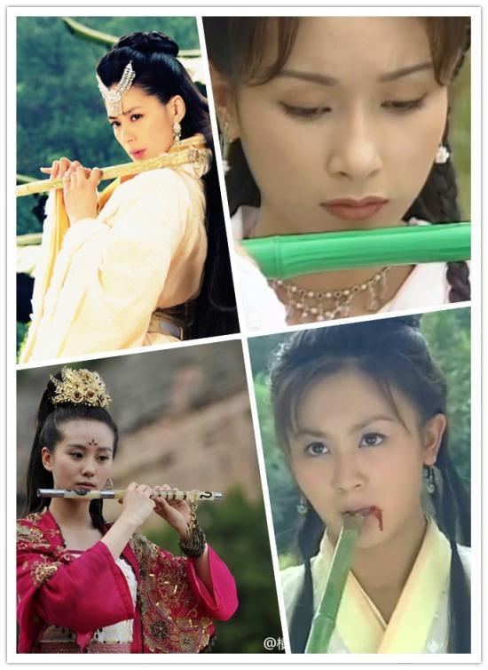 刘诗诗刘亦菲范冰冰杨幂 古装美女们的各种萌