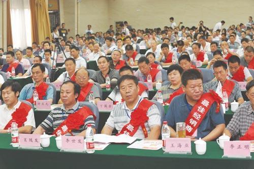古隆中演义酒业2011-2012年度经销商大会现场