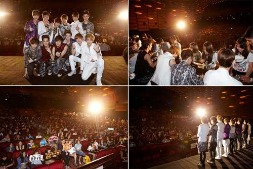 EXO签名会