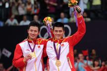 Chinese Cai Yun/Fu Haifeng win men´s doubles badminton Olympic gold