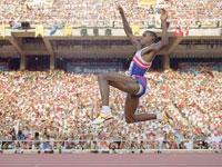 Diccionario Olímpico--El salto de Longitud Masculino