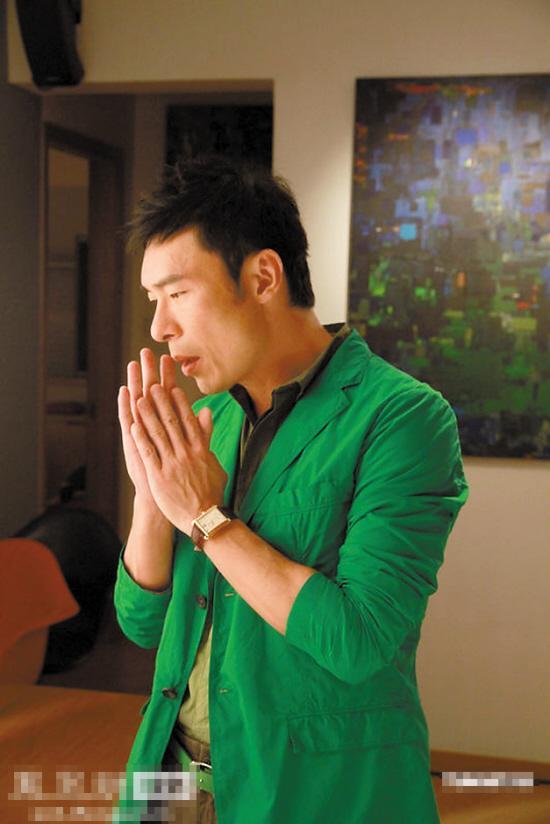许志安拍MV要求加床戏 被导演一口拒绝 粤语