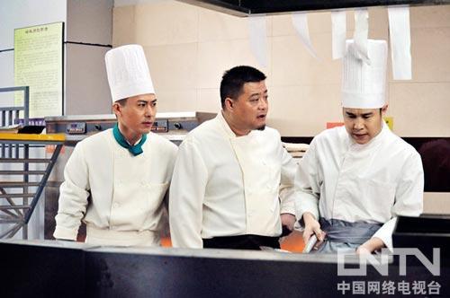 姜彤与小沈阳共战后厨