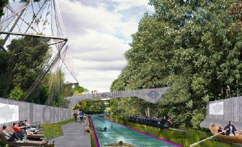 根据洛马克斯的创意,伦敦人可以游泳上班
