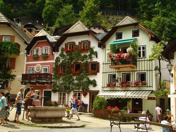 世界上最美的小镇:哈尔施塔特
