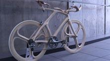 超酷木制自行车