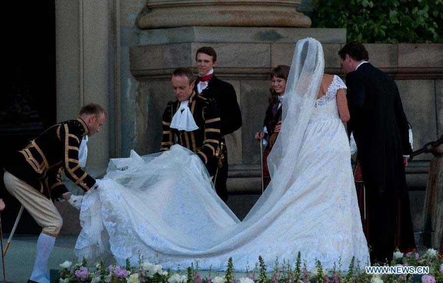 Swedish Princess Madeleine marries U.S. banker Christopher O´Neill ...