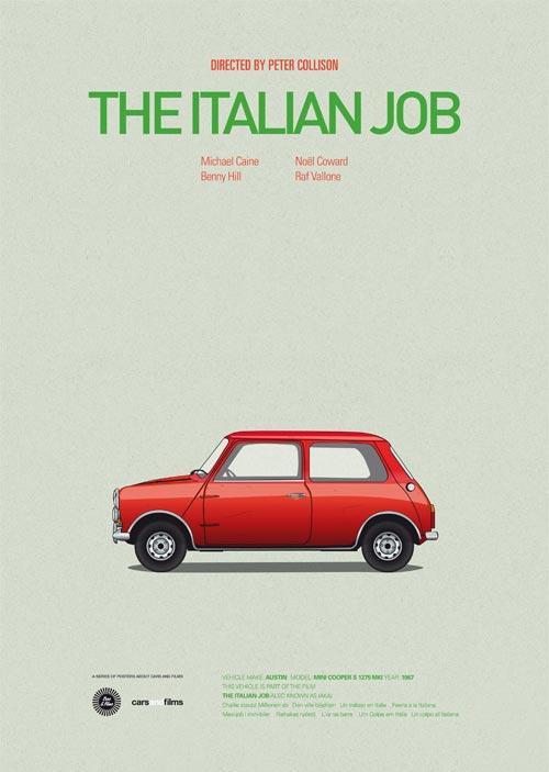 标志性汽车重塑电影海报