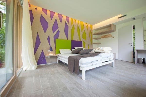 背景墙 房间 家居 起居室 设计 卧室 卧室装修 现代 装修 600_399