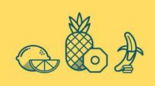 Fruit Icons 线条水果图标