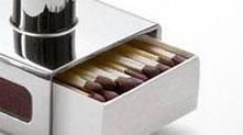 火柴盒蜡台