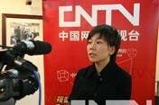 中国网络电视台记者专访苏宁电器副总裁卜扬