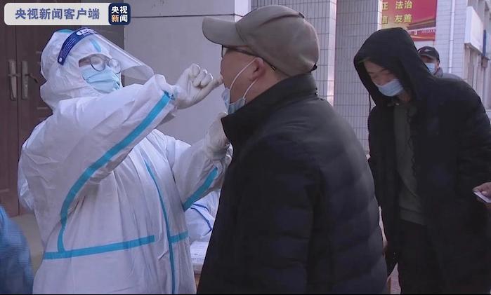 陕西多地对物流企业从业人员进行免费核酸检测