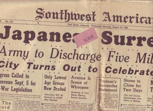 The Southwest American, August 15, 1945