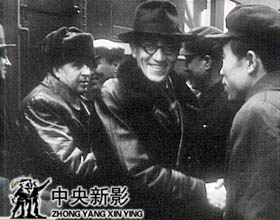 苏联专家前来支援中国人民建设事业