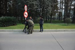 《百年中山舰》摄制组在武汉拍摄<br><br><br>