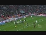 [德甲]第26轮:勒沃库森1-2门兴格拉德巴赫 比赛集锦