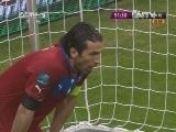 [欧洲杯]巴尔扎雷蒂手球被判点球 厄齐尔一蹴而就
