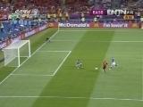 [欧洲杯]意大利传球失误 哈维助攻托雷斯破门