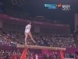 女子平衡木决赛 邓琳琳摘金