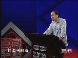 《百家讲坛》 刘心武揭秘红楼梦(十五) 秦可卿被告发之谜(下)