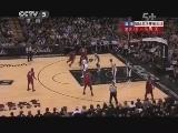 2012/2013赛季NBA总决赛第三场 热火VS马刺 第一节 20130612