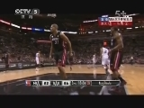 2012/2013赛季NBA总决赛第五场 热火VS马刺 第二节 20130617