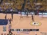 <a href=http://sports.cntv.cn/2014/05/29/VIDE1401365521622731.shtml target=_blank>[NBA最前线]詹姆斯低迷 东决第六场热火负步行者</a>
