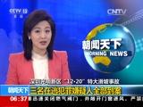 """[朝闻天下]深圳光明新区""""12·20""""特大滑坡事故 三名在逃犯罪嫌疑人全部到案"""