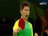 [奥运会]女子乒乓球单打第一轮 熊原VS泰普