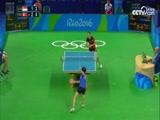 [奥运会]女子乒乓球单打1/4决赛 于梦雨VS金松伊