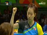 [奥运会]乒乓球女团半决赛 德国队VS日本队 2