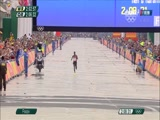 [夺金时刻]田径男子马拉松 基普乔盖夺冠