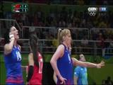 [奥运会]女子排球决赛 中国队VS塞尔维亚队