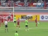 [亚冠]全北连续传球 莱昂纳多远射中柱弹出